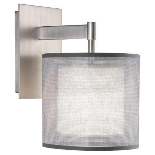 Robert Abbey Lighting S21-SAT-WS Saturnia - 1 Light Wall Sconce