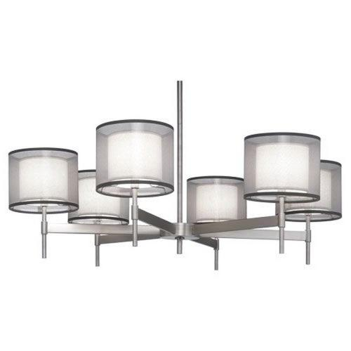 Robert Abbey Lighting S21-SAT-C Saturnia - 6 Light Chandelier