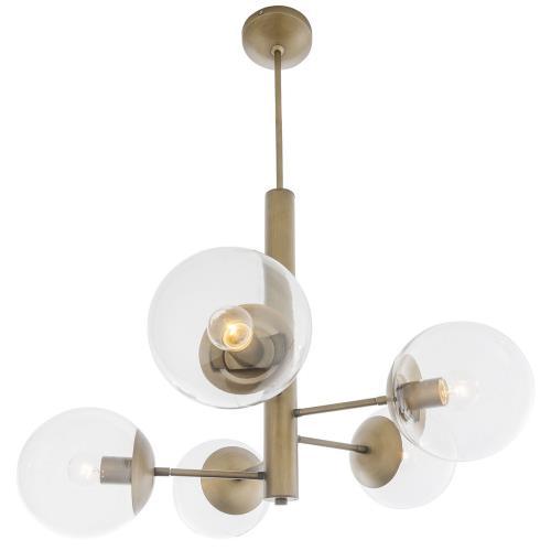 Varaluz Lighting 612710 Mid-Century - Five Light Chandelier