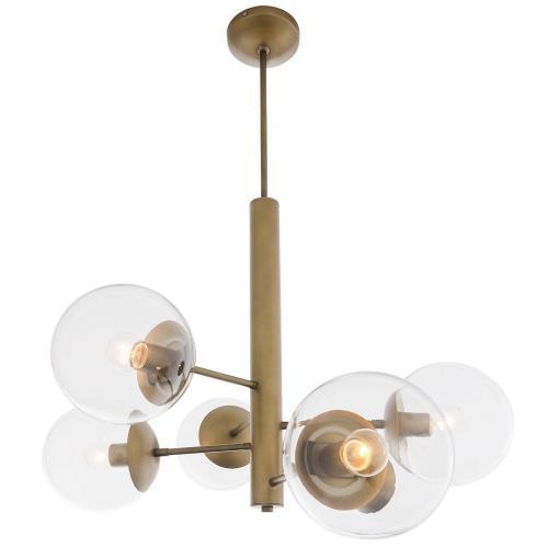 Varaluz Lighting 612720 Mid-Century - Six Light Chandelier