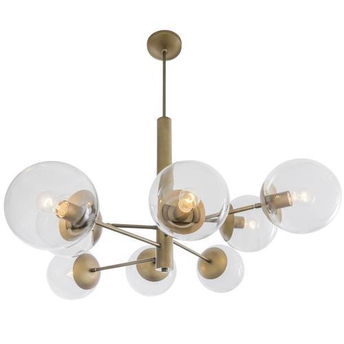 Varaluz Lighting 612730 Mid-Century - Eight Light Chandelier