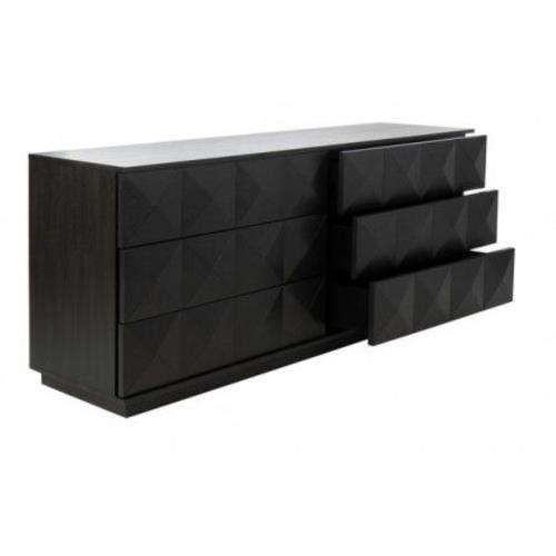 Safavieh SFV7206A Patty - 63 Inch 6 Drawer Dresser