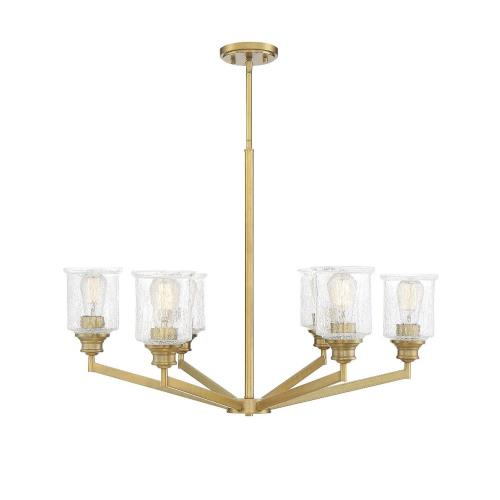 Savoy House 1-1971-6 6 Light Chandelier-Transitional Style with Vintage and Traditional Inspirations-24 inches tall by 32 inches wide