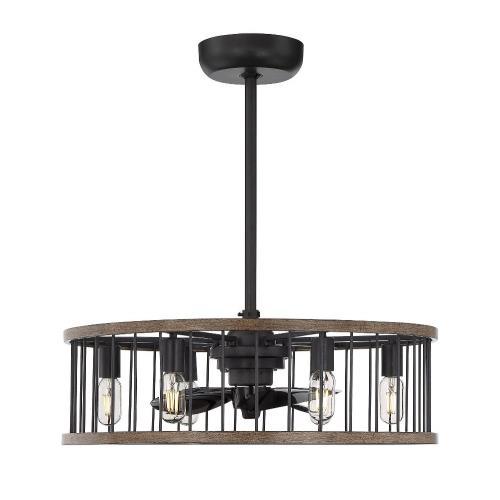 Savoy House 26-9472-FD-133 Kona - 26 Inch 36W 6 LED Fan D'lier