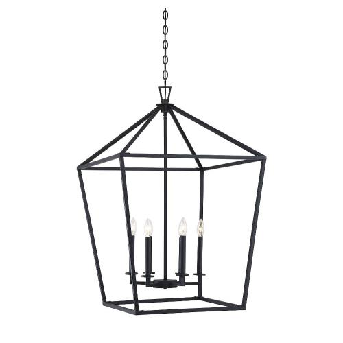 Savoy House 3-322-6 6 Light Foyer-Traditional Style with Transitional and Bohemian Inspirations-36.5 inches tall by 24 inches wide