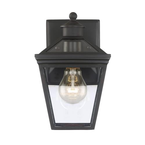 Savoy House 5-140 1 Light Outdoor Wall Lantern-Modern Farmhouse Style with Rustic and Transitional Inspirations-9.5 inches tall by 6 inches wide