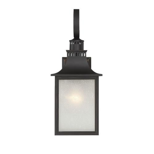 Savoy House 5-258 1 Light Outdoor Wall Lantern - Modern Farmhousestyle with Rustic and Transitional inspirations - 17.75 inches tall by 7 inches wide