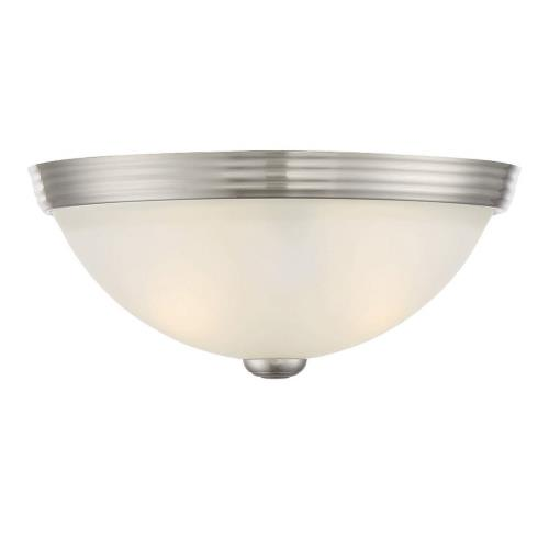 Savoy House 6-780-11 2 Light Flush Mount - Traditionalstyle with Transitional and Contemporary inspirations - 4.5 inches tall by 11 inches wide