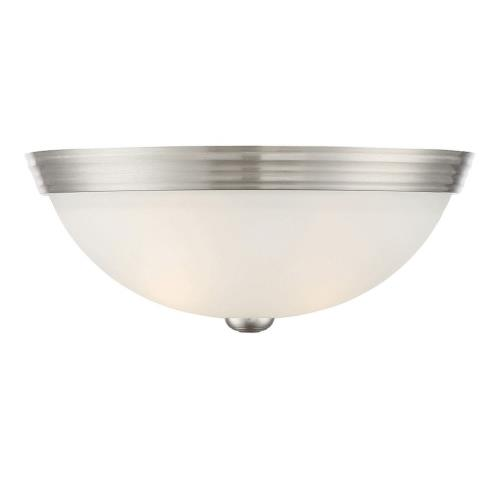 Savoy House 6-780-13 2 Light Flush Mount-Traditional Style with Transitional and Contemporary Inspirations-5 inches tall by 13 inches wide