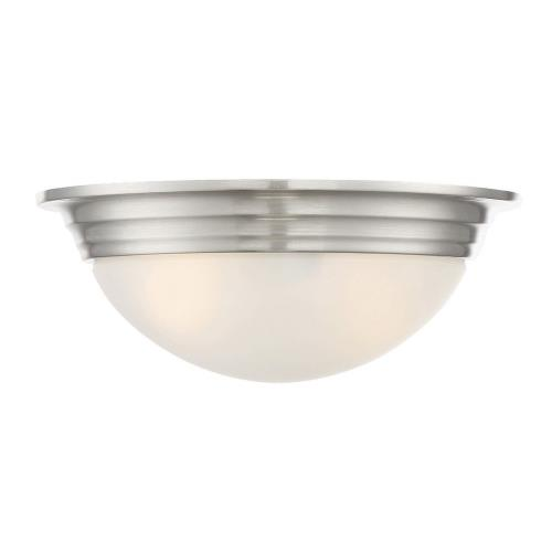 Savoy House 6-782-11 2 Light Flush Mount - Traditionalstyle with Transitional and Contemporary inspirations - 4.5 inches tall by 11 inches wide