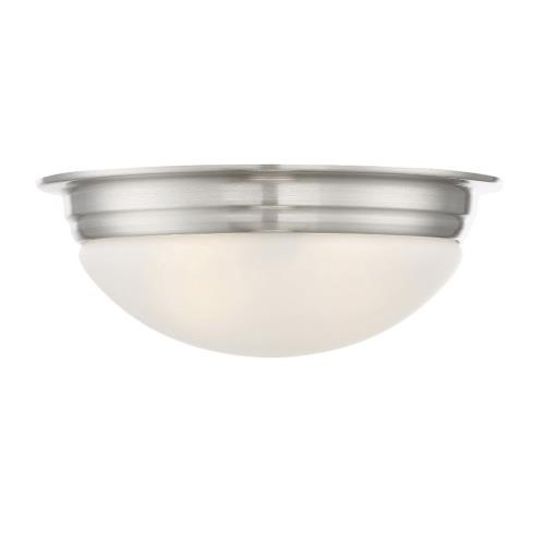 Savoy House 6-782-13 2 Light Flush Mount - Traditionalstyle with Transitional and Contemporary inspirations - 5 inches tall by 13 inches wide