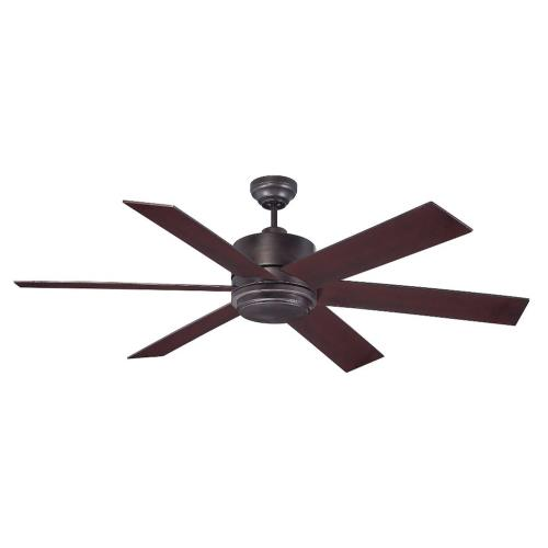 Savoy House 60-820-6 6 Blade Outdoor Ceiling Fan with Light Kit-Modern Style with Contemporary and Transitional Inspirations-17.71 inches tall by 60 inches wide