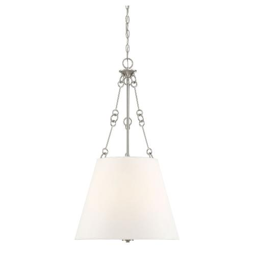 Savoy House 7-2201-4 4 Light Pendant - Traditionalstyle with Transitional and Bohemian inspirations - 32.25 inches tall by 18 inches wide