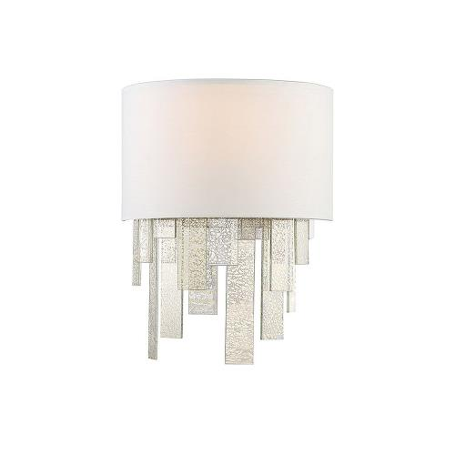 Savoy House 9-20002-1 1 Light Wall Sconce-Bohemian Style with Glam and Contemporary Inspirations-15.5 inches tall by 12 inches wide