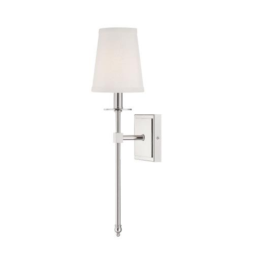 Savoy House 9-302-1 1 Light Wall Sconce-Bohemian Style with Transitional and Vintage Inspirations-20 inches tall by 5 inches wide