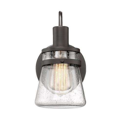 Savoy House 9-3503-1-13 1 Light Wall Sconce-Rustic Style with Modern Farmhouse and Transitional Inspirations-9.5 inches tall by 5 inches wide