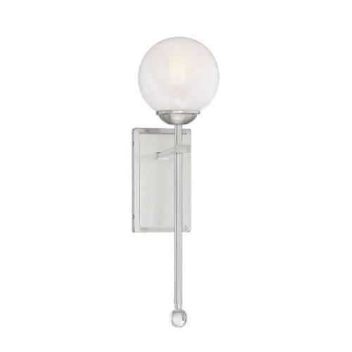 Savoy House 9-4504-1 1 Light Wall Sconce-Mid-Century Modern Style with Modern and Contemporary Inspirations-21 inches tall by 6 inches wide