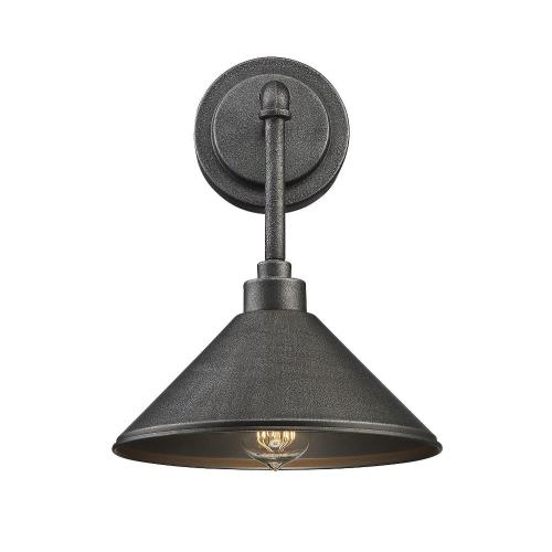 Savoy House 9-6074-1-90 1 Light Wall Sconce-Industrial Style with Rustic and Urban Farmhouse Inspirations-13 inches tall by 8 inches wide