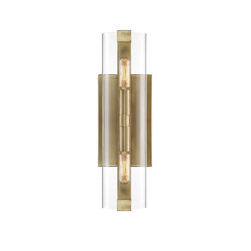 Savoy House 9-9771-2-322 2 Light Wall Sconce-Contemporary Style with Modern and Scandiinavian Inspirations-15.5 inches tall by 4.5 inches wide