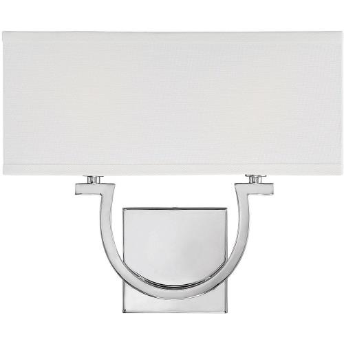 Savoy House 9-998-2 2 Light Wall Sconce-12 inches tall by 14 inches wide