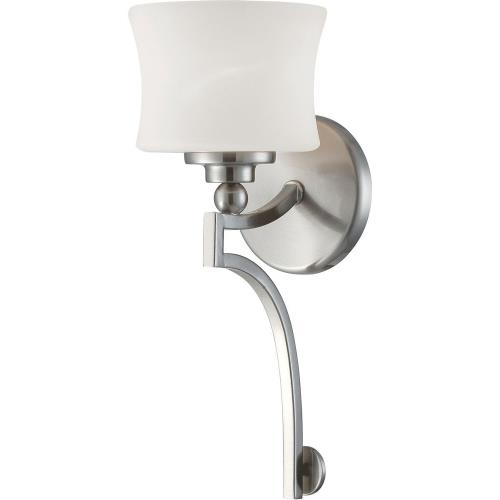 Savoy House 9P-7214-1 1 Light Wall Sconce-Transitional Style with Contemporary Inspirations-15.5 inches tall by 6 inches wide