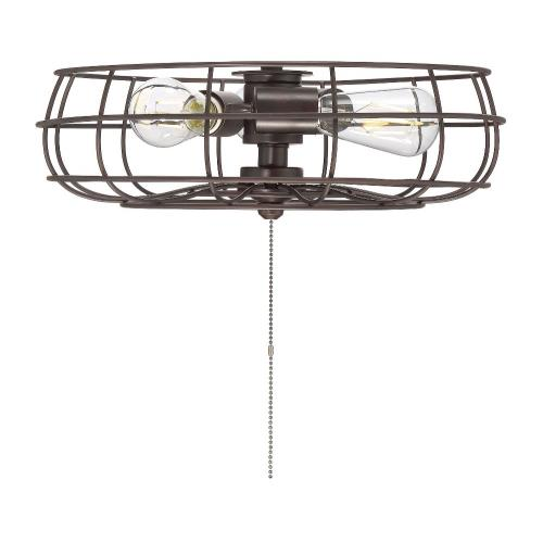 Savoy House FLG-104 19.5W 3 LED Fan Light Kit-Industrial Style with Farmhouse and Craftsman Inspirations-5 inches tall by 15.75 inches wide