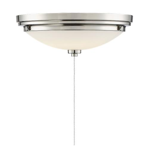 Savoy House FLG-106 14W 1 LED Fan Light Kit - Transitionalstyle with Contemporary and Industrial inspirations - 4.5 inches tall by 12 inches wide