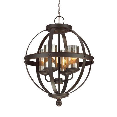 Sea Gull Lighting 3110404EN3 Sfera - Four Light Chandelier