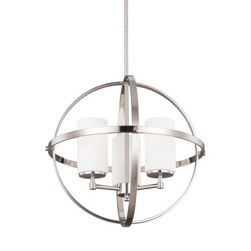 Sea Gull Lighting 3124603 Alturas - Three Light Chandelier