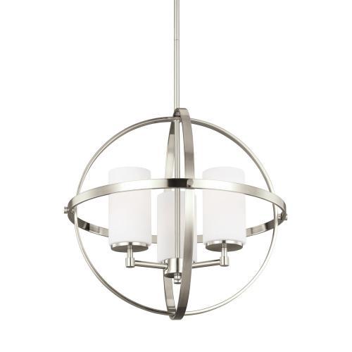 Sea Gull Lighting 3124603EN3 Alturas - Three Light Chandelier