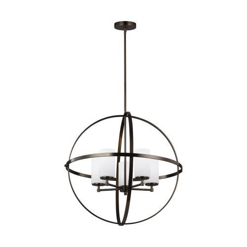 Sea Gull Lighting 3124605-778 Alturas - Five Light Chandelier