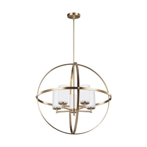 Sea Gull Lighting 3124605 Alturas 5-Light Chandelier in Transitional Style