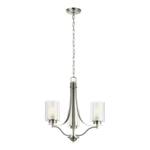 Sea Gull Lighting 3137303EN3 Elmwood Park - 20.5 inch 27.9W 3 LED Chandelier