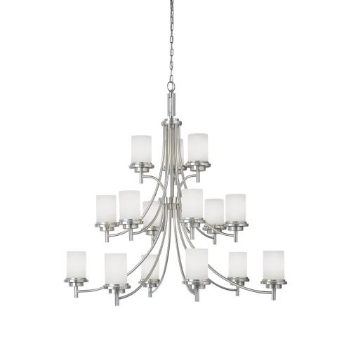 Sea Gull Lighting 31663-962 Winnetka - Fifteen Light Chandelier