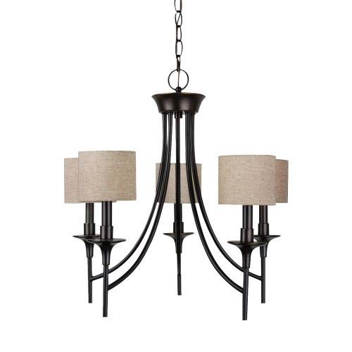 Sea Gull Lighting 31942-710 Stirling - Five Light Chandelier