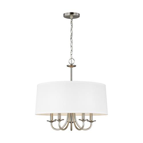 "Sea Gull Lighting 3320205EN Seville - 21.5"" 17.5W 5 LED Chandelier"