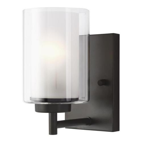 Sea Gull Lighting 4137301EN3 Elmwood Park - 8 inch 9.3W 1 LED Wall Sconce