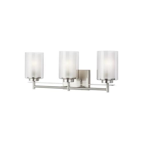 Sea Gull Lighting 4437303EN3 Elmwood Park - 22.25 inch 27.9W 3 LED Bath Vanity