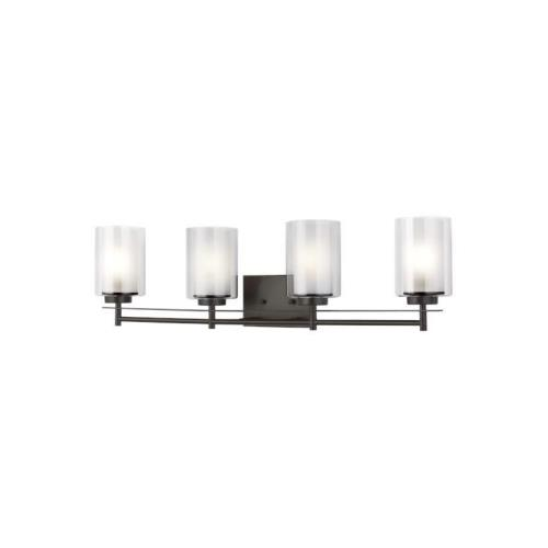 Sea Gull Lighting 4437304EN3 Elmwood Park - 31.25 inch 37.2W 4 LED Bath Vanity