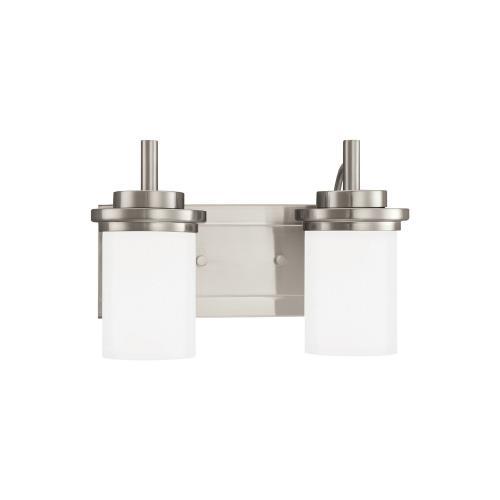 Sea Gull Lighting 44661EN3 Winnetka - Two Light Bath Vanity