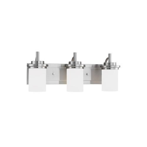 Sea Gull Lighting 44662 Winnetka - Three Light Bath Fixture