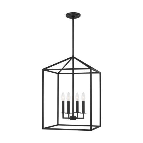 Sea Gull Lighting 5115004 Perryton - 4 Light Medium Hall Foyer