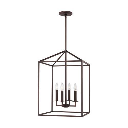 Sea Gull Lighting 5115004-710 Perryton - 15 Inch 4 Light Hall Foyer
