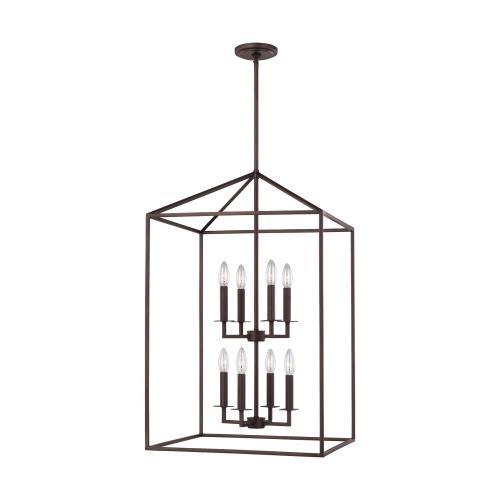 Sea Gull Lighting 5115008EN-710 Perryton - 30.75 Inch 28W 8 LED Hall Foyer