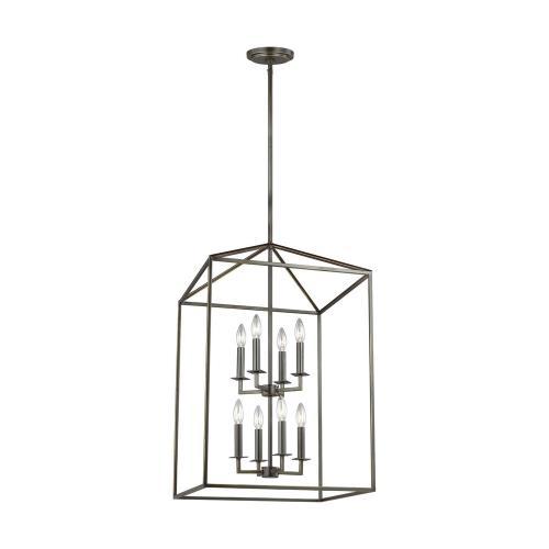 Sea Gull Lighting 5115008EN-782 Perryton - 3.5 Inch Eight Light Foyer