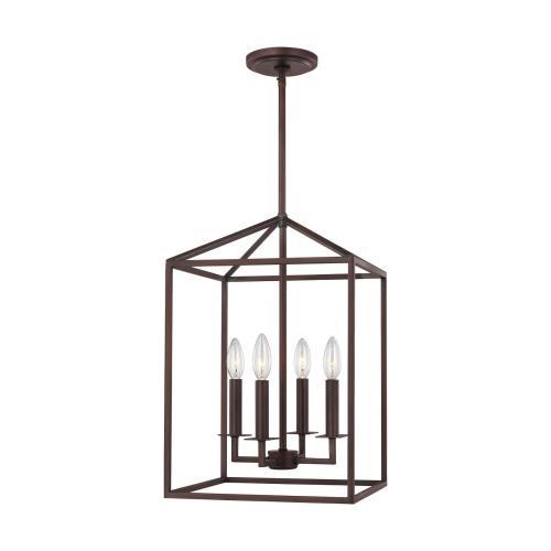 Sea Gull Lighting 5215004-710 Perryton - 12 Inch 4 Light Hall Foyer