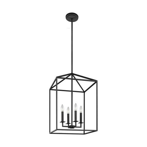 Sea Gull Lighting 5215004-839 Perryton - 18.5 Inch Four Light Hall Foyer