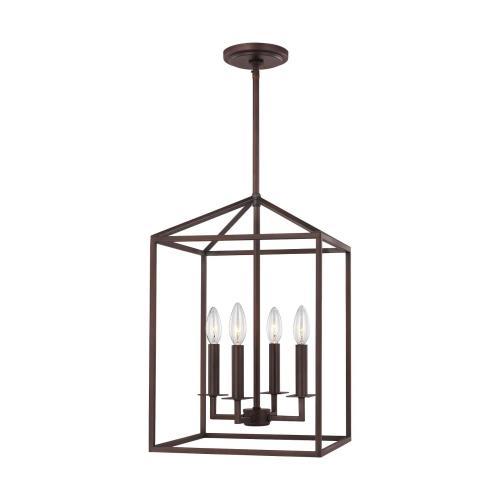 Sea Gull Lighting 5215004EN-710 Perryton - 18.5 Inch 14W 4 LED Hall Foyer