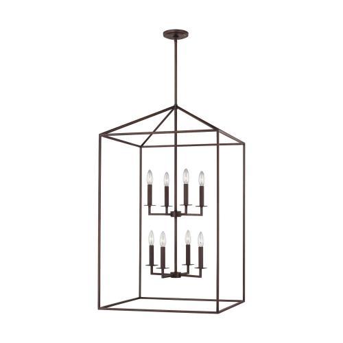Sea Gull Lighting 5315008EN-710 Perryton - 38 Inch 28W 8 LED Hall Foyer