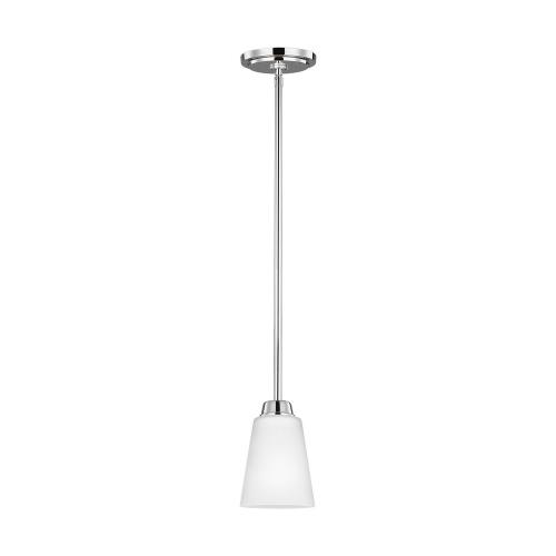 Sea Gull Lighting 6115201-05 Kerrville - 100W One Light Mini-Pendant